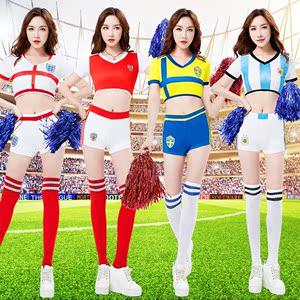 2018足球杯热门球队世界宝贝啦啦队服装女啦啦操主题酒吧演出套装