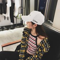 chic鸭舌帽女帽子2019夏天新款韩版休闲遮阳盆帽街头百搭时尚潮女帽