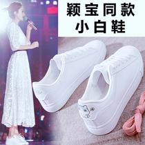 小白鞋女2019秋季新款百搭平底板鞋版百搭潮鞋秋鞋夏款布鞋