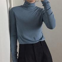 2019秋装新款韩版长袖t恤女堆堆胖mm大码T恤长袖加厚内搭小衫