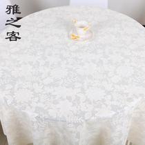 防水日本欧式pvc长方形进口免布餐桌防油圆桌pvc防水洗圆形