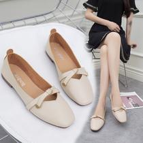 新款2019女鞋子低帮鞋韩版学生版圆头饼干鞋复古休闲女鞋板鞋773038