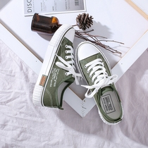 ins帆布鞋女学生韩版原宿ulzzangulzzang学生夏款布鞋夏季小白板鞋潮鞋