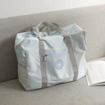 旅行包手提包韩版短途折叠拉杆绳袋束口袋双肩背包健身男女通用